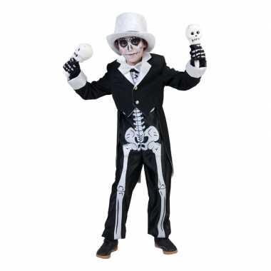 Halloween skelet carnavalskleding jongens roosendaal