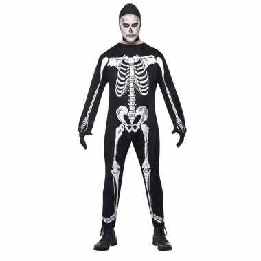 Halloween skelet carnavalskleding volwassenen roosendaal