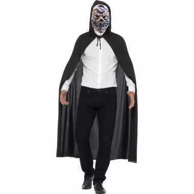 Halloween voor halloween carnavalskleding cape mad doctor masker roosendaal