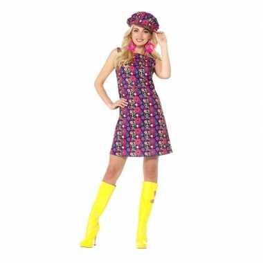 Hippie peace sixties carnavalskleding dames roosendaal