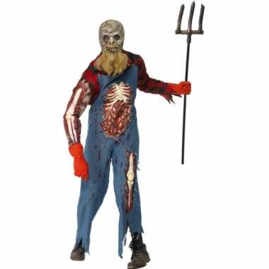 Holbewoner zombie carnavalskleding wond roosendaal