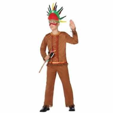 Indiaan/indianen carnavalskleding/verkleed carnavalskleding jongens r