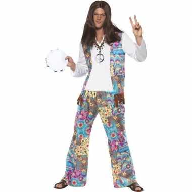 Jaren hippie carnavalskleding groovy heren roosendaal