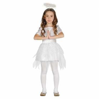Kerst engel raziel verkleed carnavalskleding/jurk meisjes roosendaal