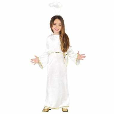 Kerst engel sariel verkleed carnavalskleding/jurk meisjes roosendaal