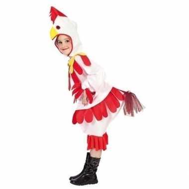 Kip/haan carnavalskleding kinderen roosendaal