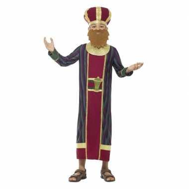 Koning balthazar carnavalskleding jongens koningen kerst carnavalskle