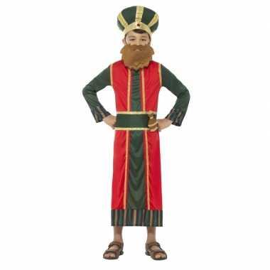 Koning caspar carnavalskleding jongens koningen kerst carnavalskledin