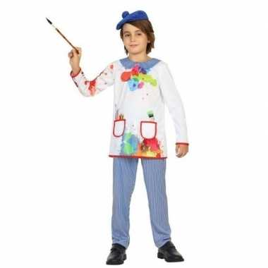Kunstschilder verkleed carnavalskleding picassio kinderen roosendaal