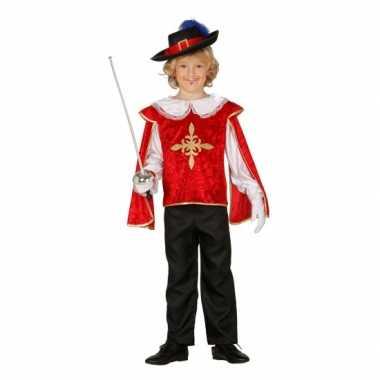 Musketiers carnavalskledings jongens roosendaal