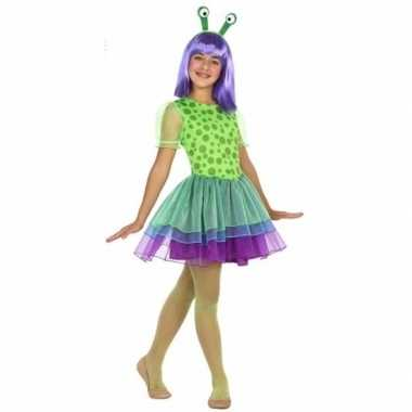 Neon alien carnavalskleding meisjes roosendaal