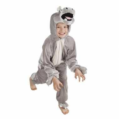 Nijlpaard carnavalskleding kinderen roosendaal