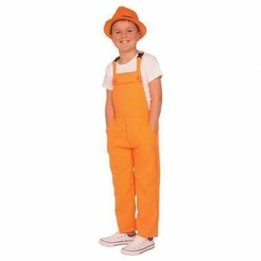 Oranje tuinbroek/carnavalskledingl kinderen roosendaal