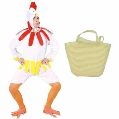 Paaskip carnavalskleding maat l ( ) paasmandje volwassenen roosendaal