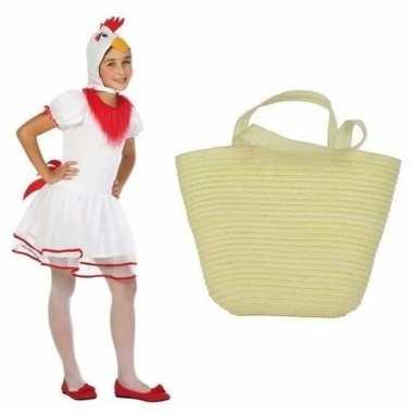 Paaskip carnavalskleding maat paasmandje meisjes roosendaal
