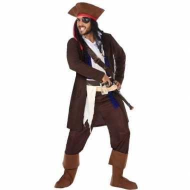 Piraat christopher verkleed carnavalskleding/carnavalskleding heren r