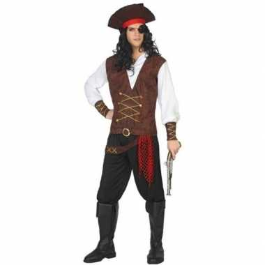 Piraat lewis verkleed carnavalskleding/carnavalskleding volwassenen r