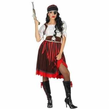 Piraat rachel verkleed carnavalskleding/carnavalskleding dames roosen