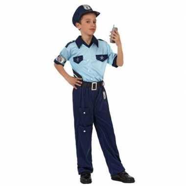 Politie agent carnavalskleding / verkleed carnavalskleding jongens ro