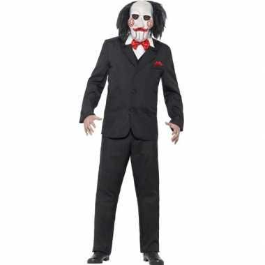Saw jigsaw carnavalskleding masker roosendaal