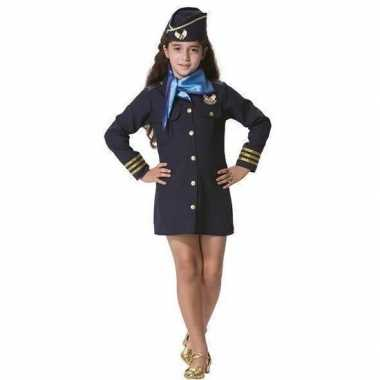 Stewardess carnavalskleding meisjes roosendaal