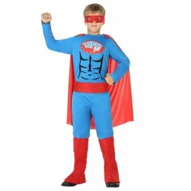 Superheld carnavalskleding/verkleed carnavalskleding jongens roosenda
