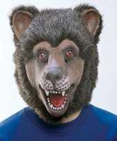 Carnavalskleding beren masker roosendaal