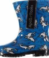 Carnavalskleding blauwe jongens regenlaarzen haaien roosendaal