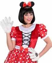 Carnavalskleding cartoon handschoenen volwassenen roosendaal