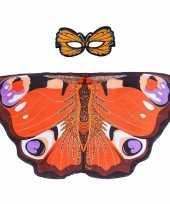 Carnavalskleding dagpauwoog vlinder verkleedset meisjes roosendaal