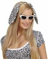 Carnavalskleding diadeem honden oren dalmatier roosendaal