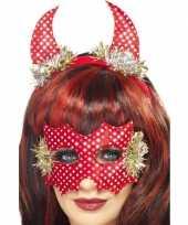 Carnavalskleding duivel setje rood roosendaal