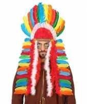 Carnavalskleding gekleurde indianen tooi heren roosendaal