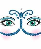 Carnavalskleding gezicht stickers nacht vel roosendaal