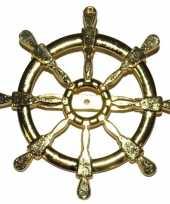 Carnavalskleding gouden matroos zeeman verkleed broche scheepsroer roosendaal