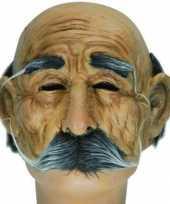 Carnavalskleding half masker oude man roosendaal