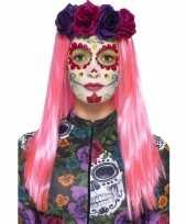 Carnavalskleding halloween day of the dead schmink set sweetheart roosendaal