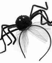 Carnavalskleding halloween diadeem zwarte spin roosendaal