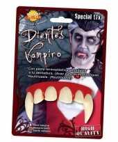 Carnavalskleding halloween dracula tanden volwassenen roosendaal