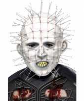Carnavalskleding halloween hellraiser masker volwassenen roosendaal