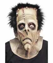 Carnavalskleding halloween horror masker frankenstein roosendaal