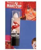 Carnavalskleding halloween horror mat witte lippenstift lipstick roosendaal