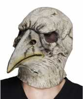 Carnavalskleding halloween latex halloween adelaar vogel masker volwassenen roosendaal