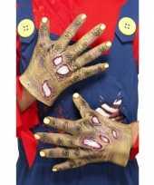 Carnavalskleding halloween rottende zombie handen roosendaal