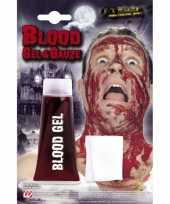 Carnavalskleding halloween tube bloed gel gaasje roosendaal
