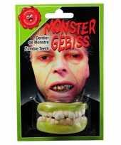 Carnavalskleding halloween zombie gebitje boven onder tanden roosendaal
