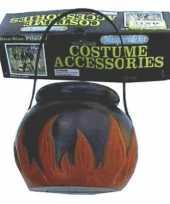 Carnavalskleding heksen ketel vlammen roosendaal