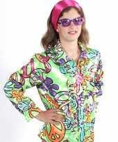 Carnavalskleding hippie blouse peace kids roosendaal