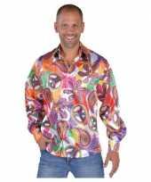 Carnavalskleding hippie blouses heren fun roosendaal