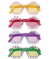 Carnavalskleding hippie bril volwassenen roosendaal